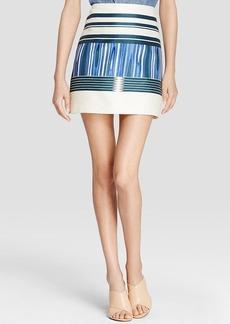 Tory Burch Mikado Stripe Skirt