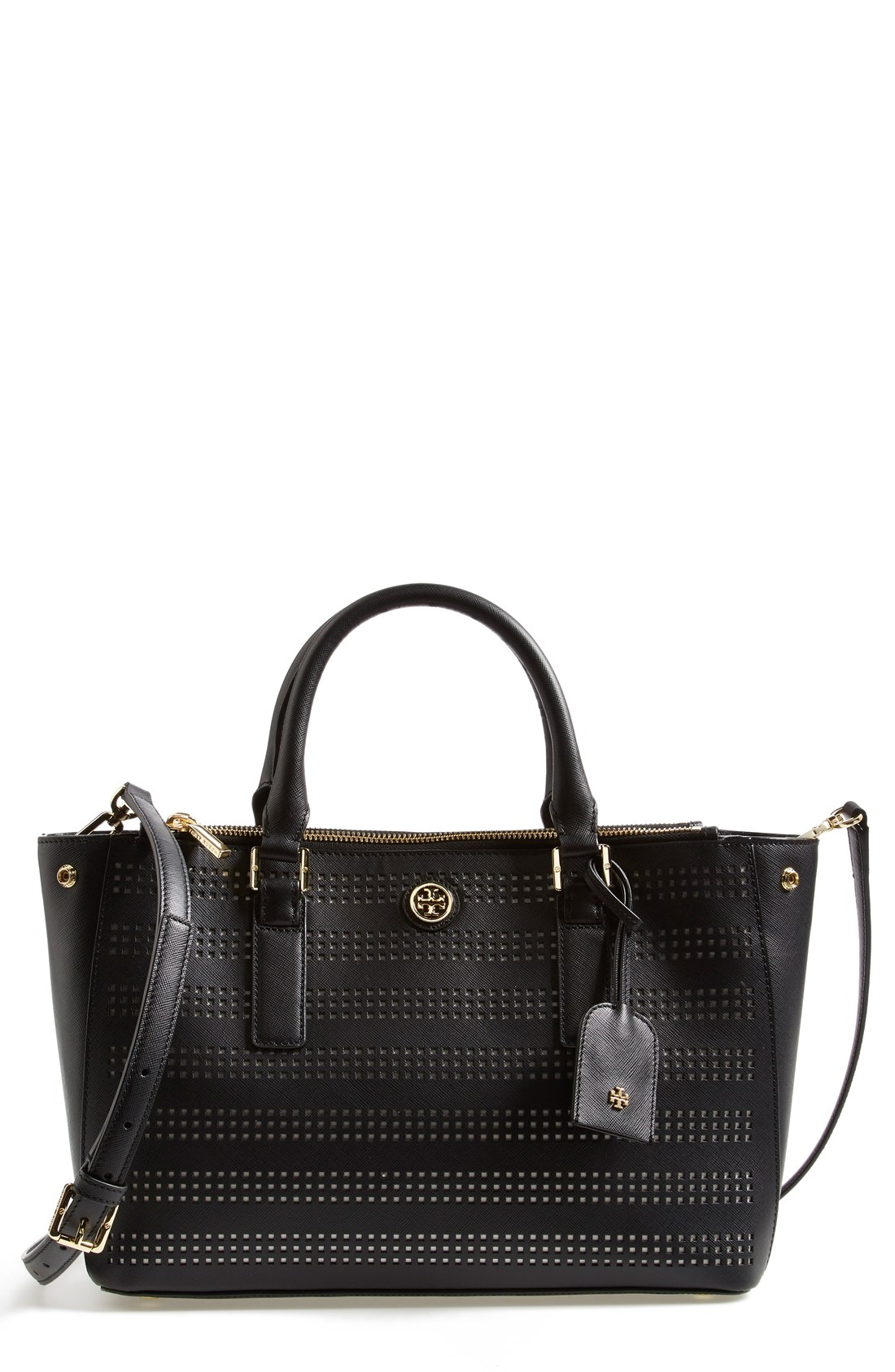 tory burch tory burch 39 mini robinson 39 double zip tote sizes all sizes shop it to me all. Black Bedroom Furniture Sets. Home Design Ideas