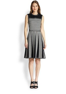 Tory Burch Monique Fit-&-Flare Dress