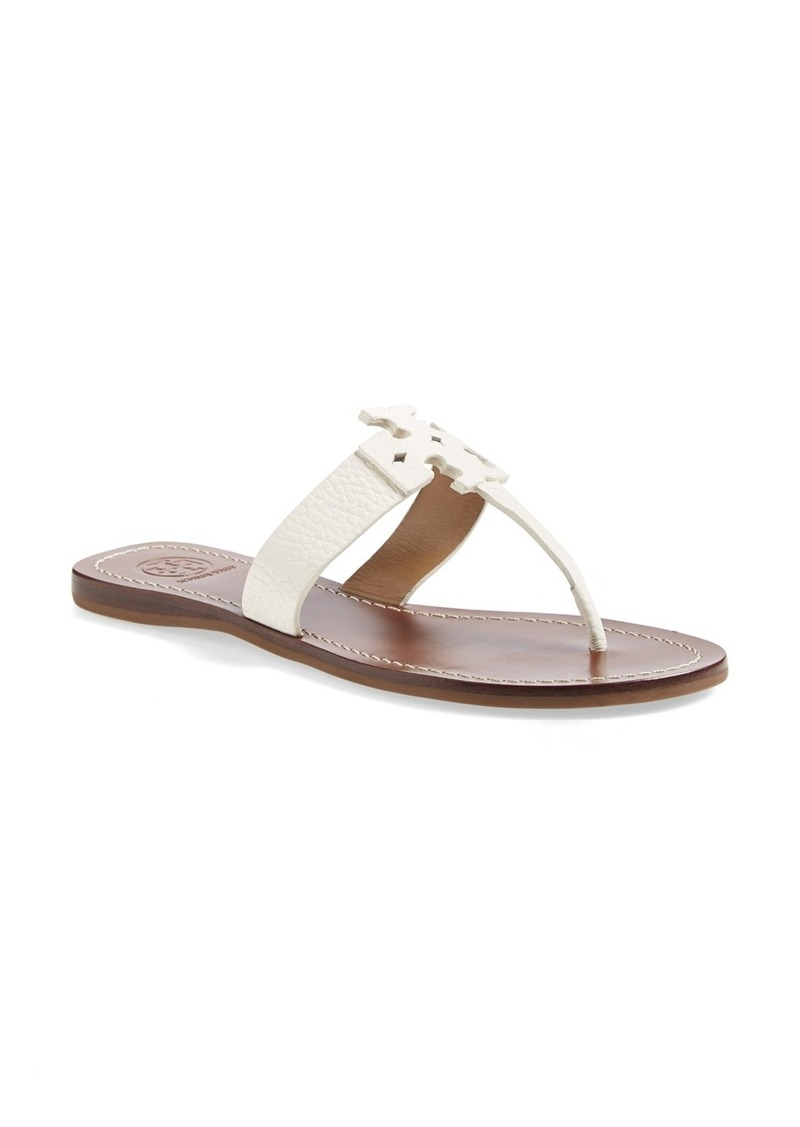 tory burch tory burch 39 moore 39 leather thong sandal women shoes shop it to me. Black Bedroom Furniture Sets. Home Design Ideas