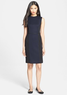 Tory Burch 'Natalee' Ponte Sheath Dress