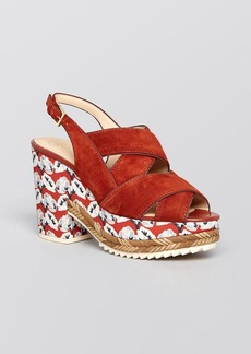 Tory Burch Platform Sandals - Cici