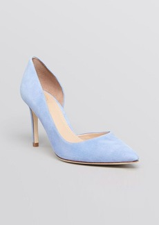 Tory Burch Pointed Toe D'Orsay Pumps - Classic High Heel