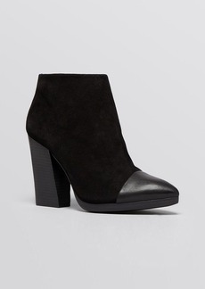 Tory Burch Pointed Toe Platform Booties - Rivington High Heel