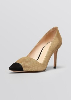 Tory Burch Pointed Toe Pumps - Shaila High Heel