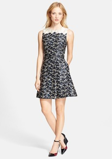 Tory Burch 'Rayna' Fit & Flare Dress