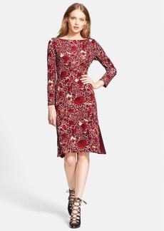 Tory Burch 'Ria' Floral Print Shift Dress