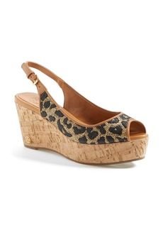 Tory Burch 'Rosalind' Wedge Sandal (Online Only)