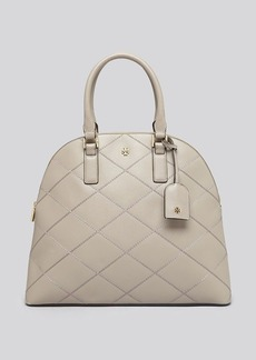 Tory Burch Satchel - Robinson Stitched Zip Dome