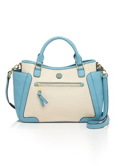 Tory Burch Satchel - Small Frances Canvas