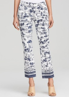 Tory Burch Scenic Print Jeans