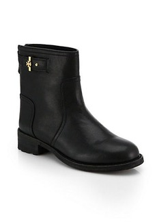 Tory Burch Selena Leather Ankle Boots