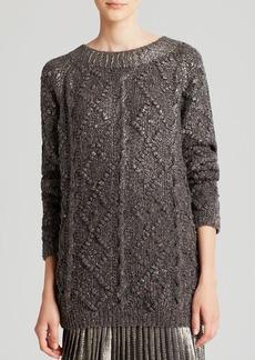 Tory Burch Shawn Long Sweater