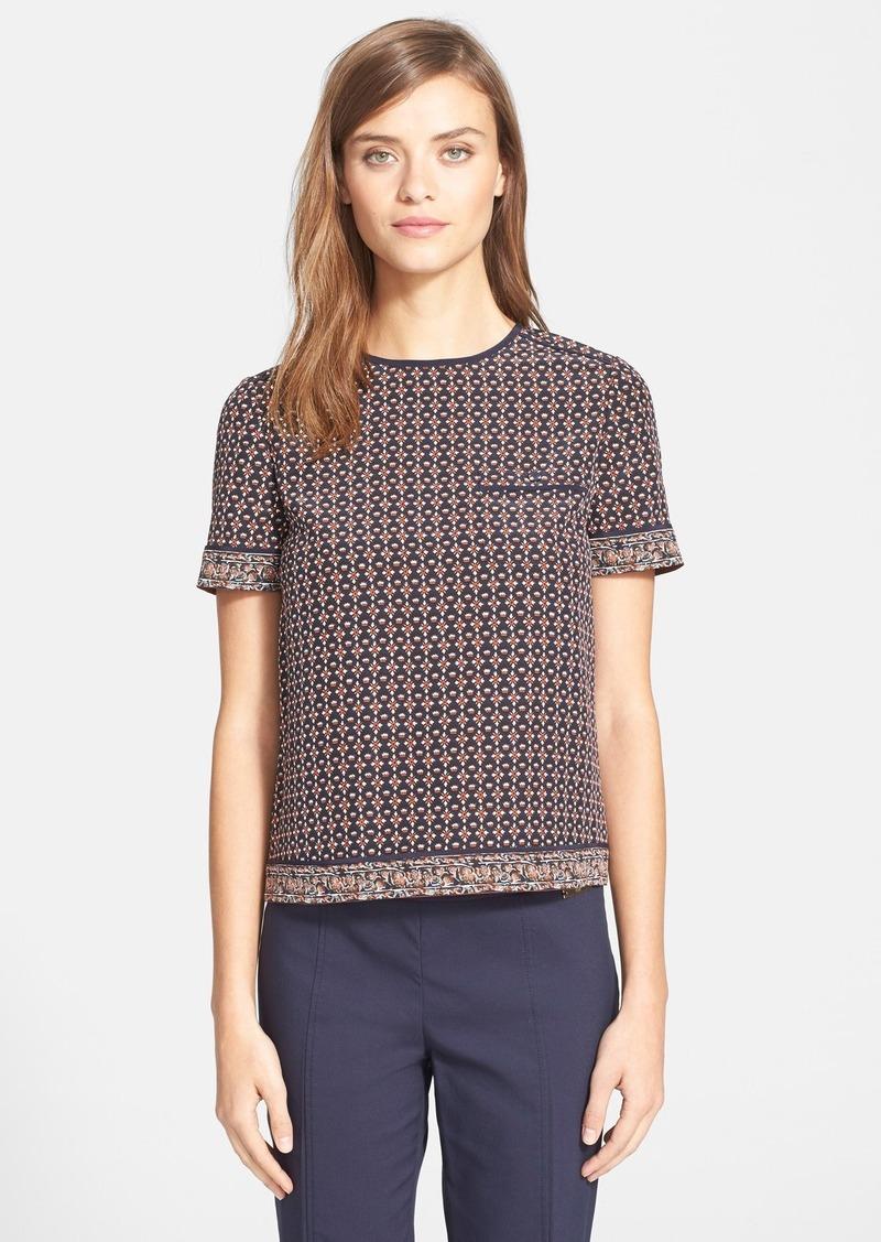 Tory Burch Tory Burch Silk Pocket Tee Casual Shirts