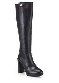Tory Burch Sullivan Knee-High Leather Boots