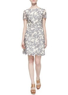 Tory Burch Summer Two-Tone Lace Dress
