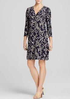 Tory Burch Symbol Print Silk Dress