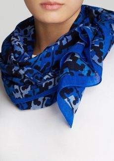 Tory Burch T Stamped Scarf