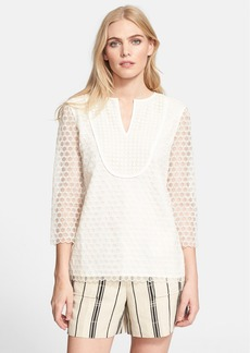 Tory Burch 'Tali' Embroidered Top