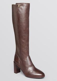 Tory Burch Tall Platform Boots - Sullivan High Heel