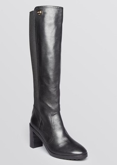 Tory Burch Tall Platform Boots - Sullivan High Heel