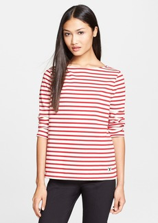 Tory Burch 'Tessa' Stripe Cotton Top