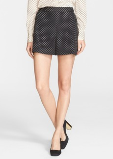 Tory Burch 'Tilda' Print Stretch Silk Shorts