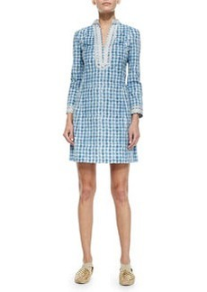 Tory Burch Tory Graphic-Print Mini Dress