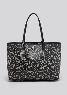 Tory Burch Tote - Kerrington Printed Lace Shopper