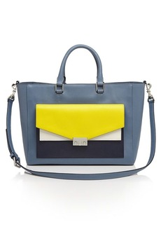 Tory Burch Tote - T-Lock Colorblock