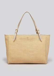 Tory Burch Tote - York Straw Buckle