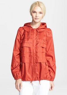 Tory Burch 'Vivienne' Hooded Anorak Jacket