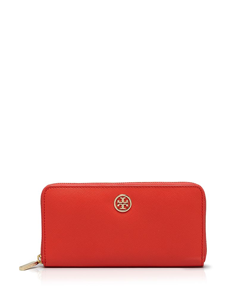 tory burch tory burch wallet robinson multi gusset zip continental sizes all sizes shop it. Black Bedroom Furniture Sets. Home Design Ideas
