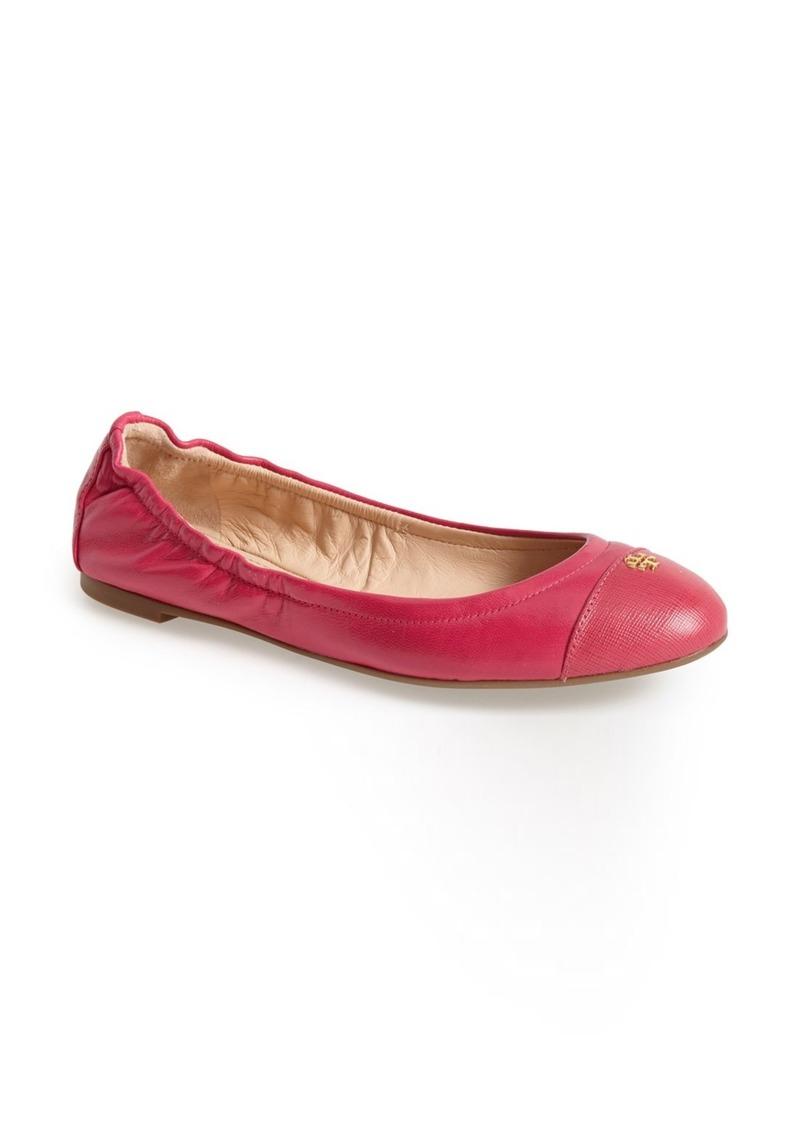 tory burch tory burch 39 york 39 ballet flat women shoes shop it to me. Black Bedroom Furniture Sets. Home Design Ideas
