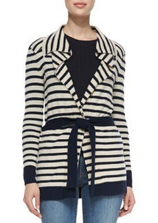 Vaile Striped Cashmere Cardigan   Vaile Striped Cashmere Cardigan