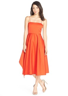 Tracy Reese 'Artful Anne' Cut Out Back Fit & Flare Dress