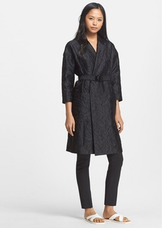 Tracy Reese Belted Cloqué Coat
