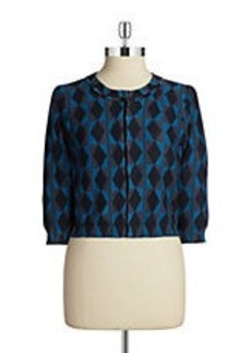 TRACY REESE Button-Front Cardigan