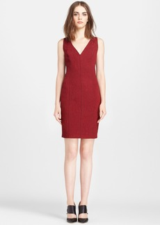Tracy Reese Cloqué Knit Sheath Dress
