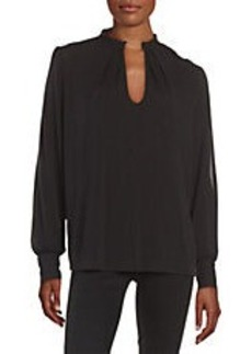TRACY REESE Cold Shoulder Blouse