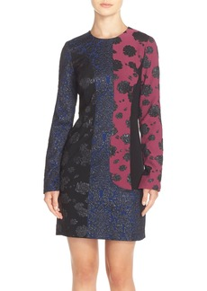 Tracy Reese Colorblock Jacquard Sheath Dress