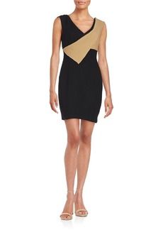 TRACY REESE Colorblocked Shift Dress