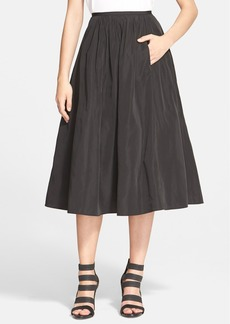 Tracy Reese 'Dolce Vita' Satin A-Line Skirt