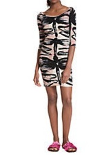 TRACY REESE Dragonfly Printed Dress