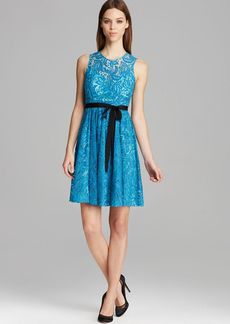 Tracy Reese Dress - Alana Sleeveless Lace Fit and Flare