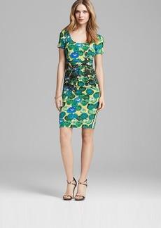 Tracy Reese Dress - Hot Sunshine Rose Print Tee