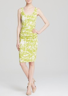 Tracy Reese Dress - Sleeveless Palm Print Sheath