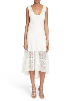 Tracy Reese Drop Waist Lace Dress