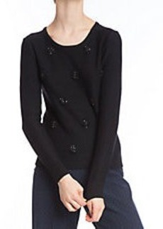 TRACY REESE Embellished Knit Top