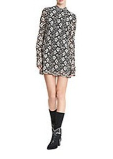 TRACY REESE Floral Lace Mini Dress